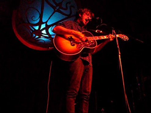 Bobby Long performs at Backstage Lounge in Vancouver.