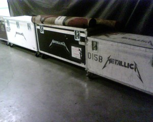Just random Metallica tour boxes that I thought looked cool.
