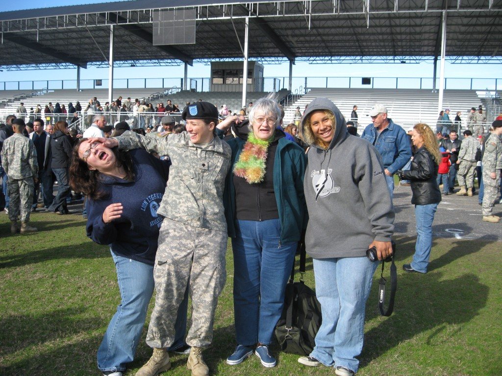 Went to Ft. Jackson for Jennifer's Army graduation.