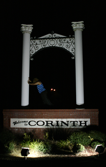 Took Jennifer to Corinth, MS to meet my favorite place & people on earth.